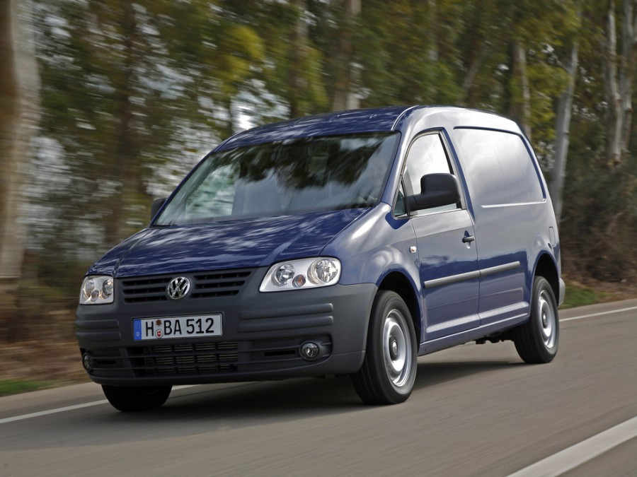 Volkswagen Caddy Maxi фургон 4-дв., 2004–2010, 3 поколение - отзывы, фото и характеристики на Car.ru