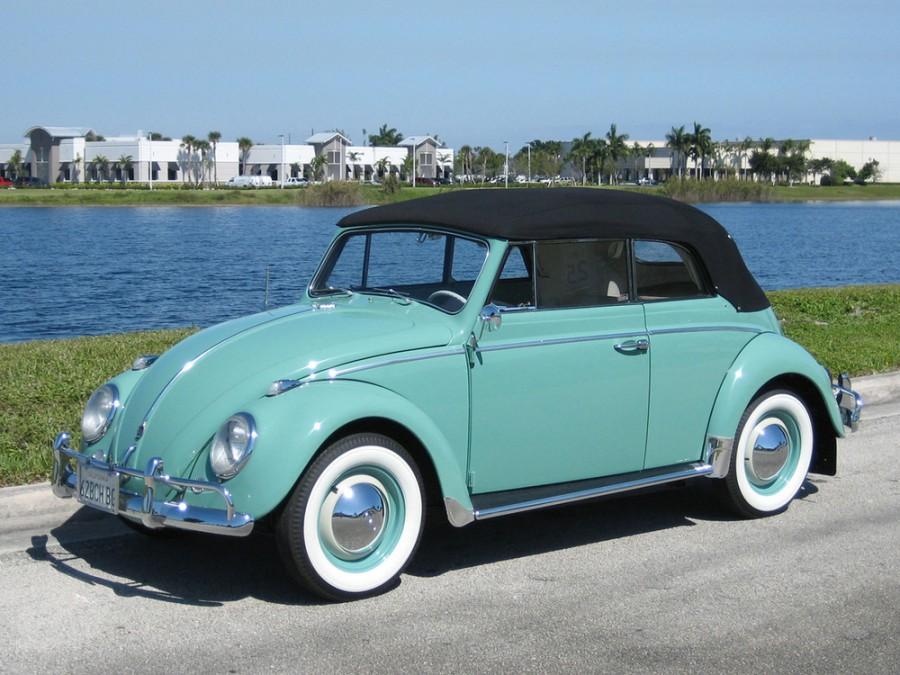 Volkswagen Beetle кабриолет, 1953–1968, 1200/1300/1500 [рестайлинг] - отзывы, фото и характеристики на Car.ru