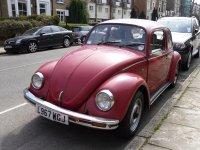 Volkswagen Beetle, 1600i [5-й рестайлинг], Седан, 1985–2003