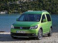 Volkswagen Caddy, 3 поколение [рестайлинг], Cross минивэн 4-дв., 2010–2016
