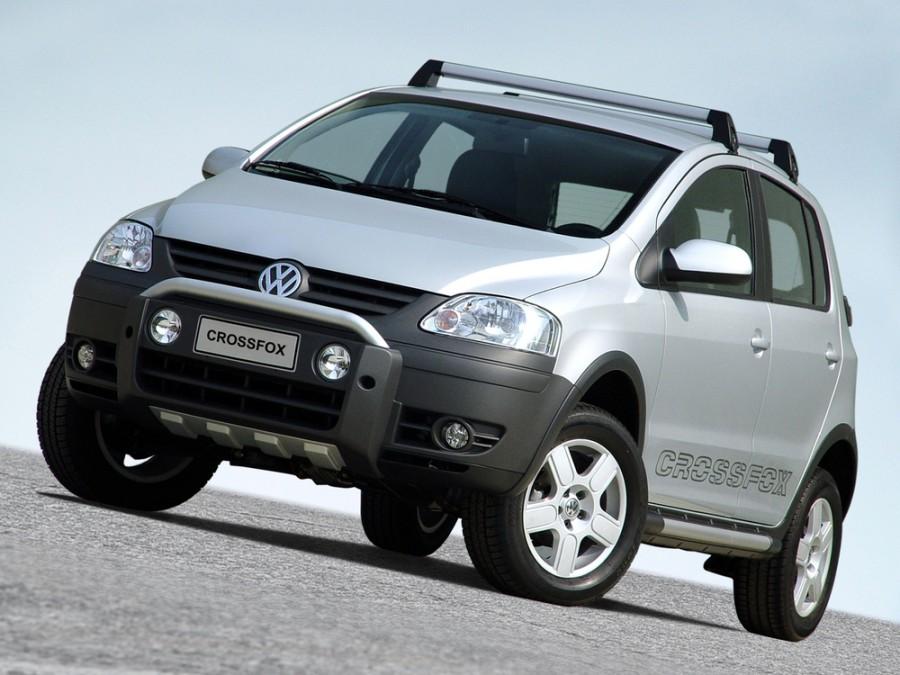 Volkswagen Fox Cross хетчбэк 5-дв., 2003–2007, 2 поколение - отзывы, фото и характеристики на Car.ru