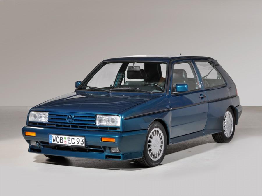 Volkswagen Golf Rallye хетчбэк 3-дв., 1983–1992, 2 поколение - отзывы, фото и характеристики на Car.ru
