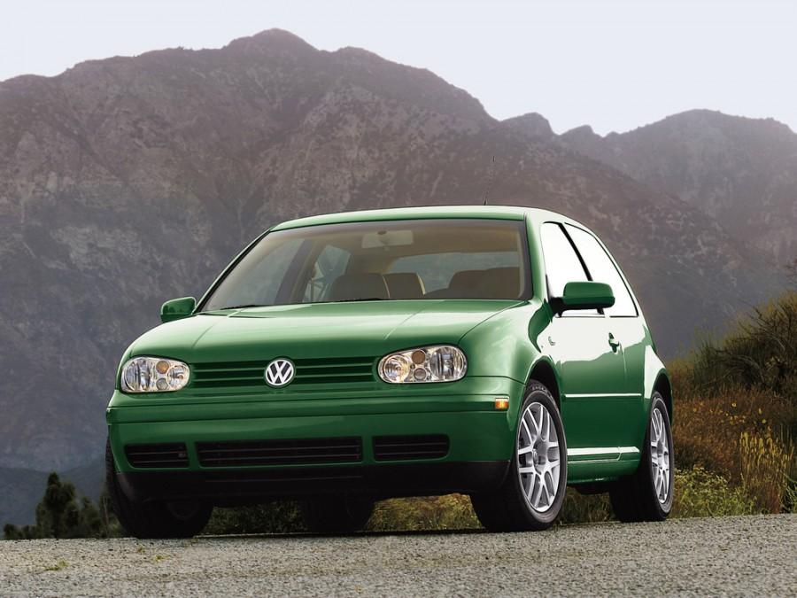 Volkswagen Golf хетчбэк 3-дв., 1997–2006, 4 поколение - отзывы, фото и характеристики на Car.ru