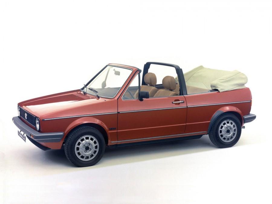 Volkswagen Golf кабриолет, 1974–1993, 1 поколение - отзывы, фото и характеристики на Car.ru