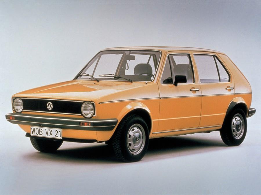 Volkswagen Golf хетчбэк 5-дв., 1974–1993, 1 поколение - отзывы, фото и характеристики на Car.ru