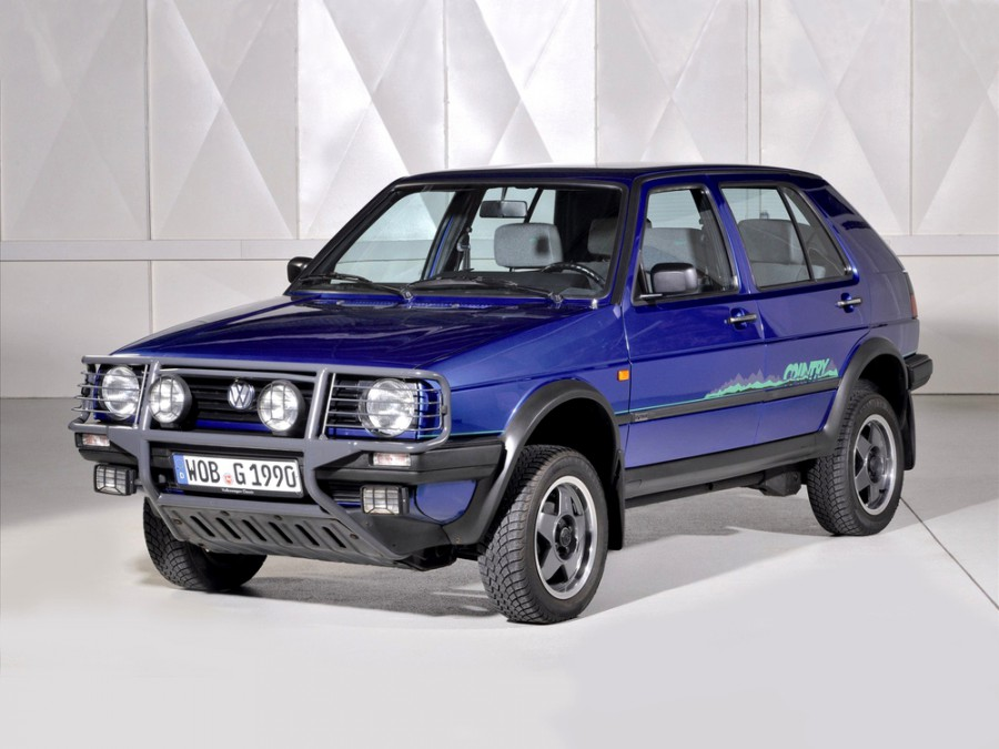 Volkswagen Golf Country кроссовер, 1983–1992, 2 поколение - отзывы, фото и характеристики на Car.ru