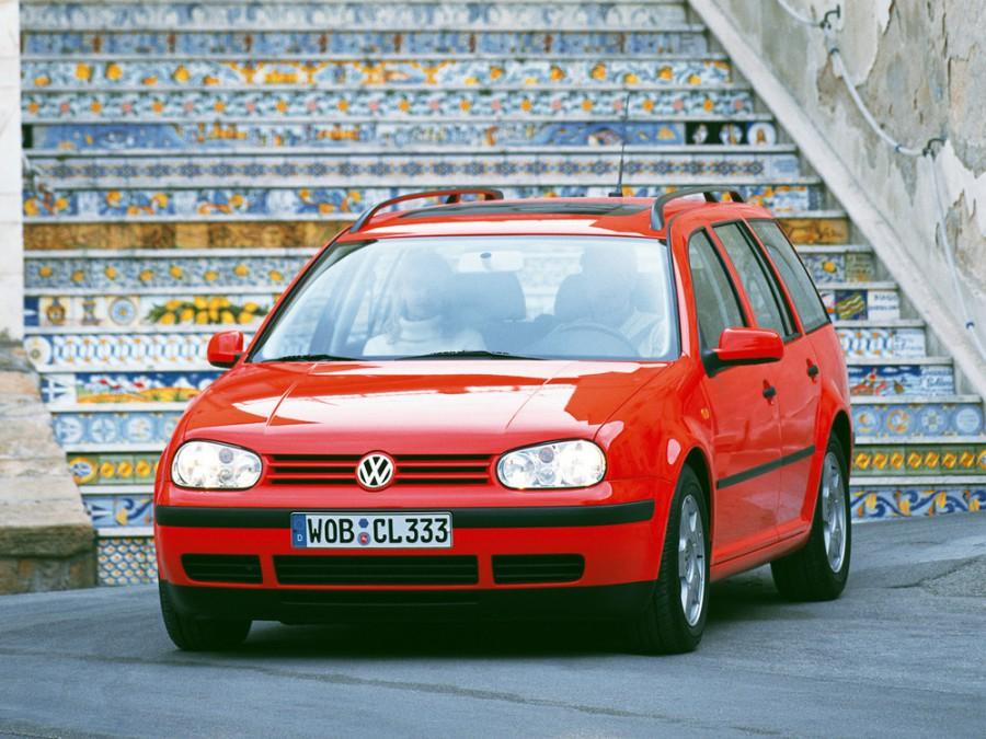 Volkswagen Golf универсал, 1997–2006, 4 поколение - отзывы, фото и характеристики на Car.ru