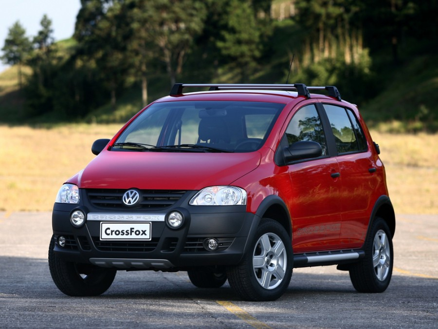 Volkswagen Fox Cross хетчбэк 5-дв., 2005–2009, 2 поколение [рестайлинг] - отзывы, фото и характеристики на Car.ru