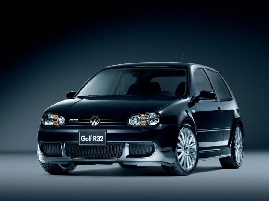 Volkswagen Golf R32 хетчбэк 3-дв., 1997–2006, 4 поколение - отзывы, фото и характеристики на Car.ru