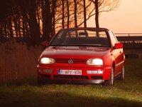 Volkswagen Golf, 3 поколение, Кабриолет, 1991–1998