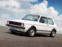 Volkswagen Golf, 1 поколение, Gti хетчбэк 3-дв., 1974–1993