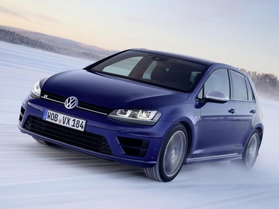 Volkswagen Golf R хетчбэк 5-дв., 2012–2016, 7 поколение - отзывы, фото и характеристики на Car.ru