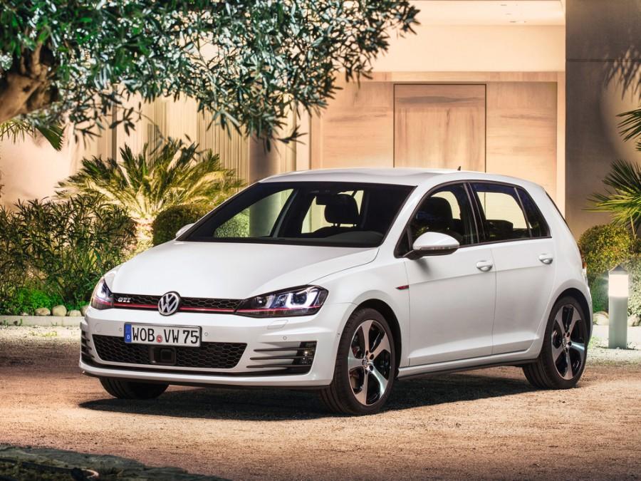 Volkswagen Golf GTI хетчбэк 5-дв., 2012–2016, 7 поколение - отзывы, фото и характеристики на Car.ru