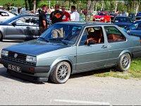 Volkswagen Jetta, 2 поколение, Седан 2-дв., 1984–1987