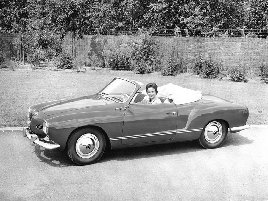 Volkswagen Karmann Ghia кабриолет, 1959–1974, Type 14 [рестайлинг] - отзывы, фото и характеристики на Car.ru