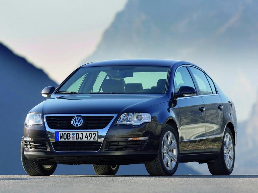 Volkswagen Passat седан 4-дв., 2005–2010, B6 - отзывы, фото и характеристики на Car.ru