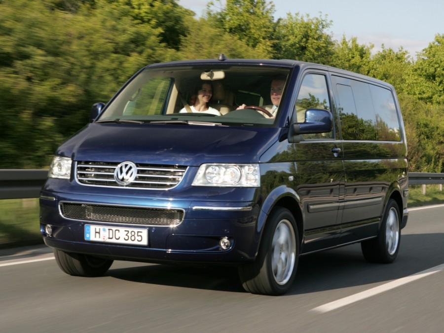 Volkswagen Multivan микроавтобус 4-дв., 2003–2016, T5 - отзывы, фото и характеристики на Car.ru