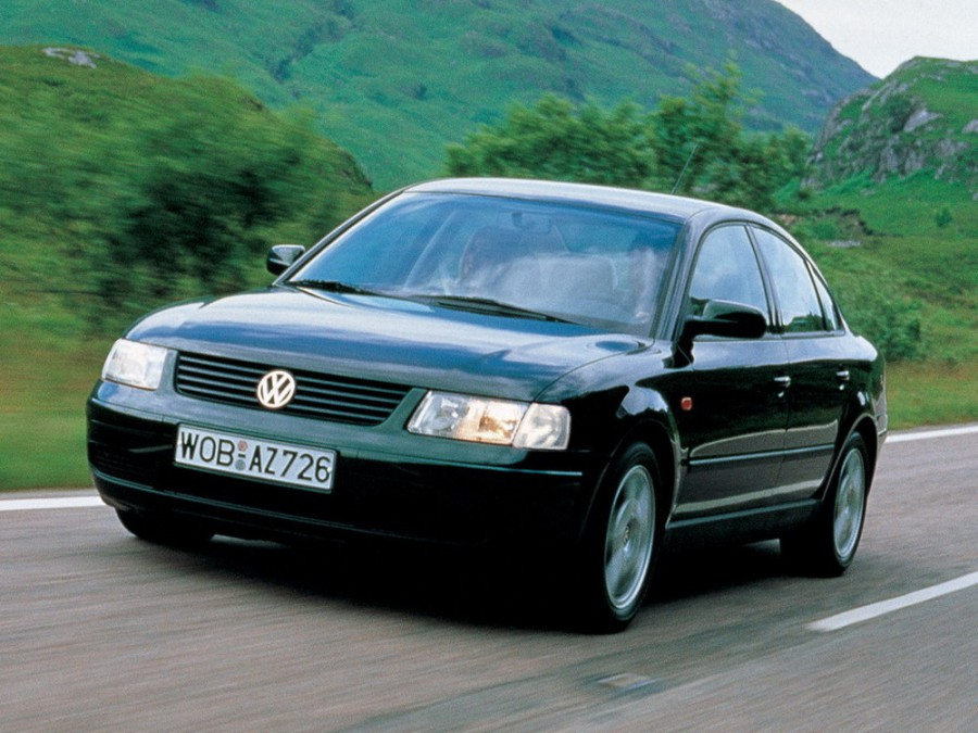 Volkswagen Passat седан 4-дв., 1996–2000, B5 - отзывы, фото и характеристики на Car.ru