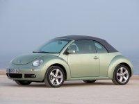 Volkswagen New Beetle, 1 поколение [рестайлинг], Кабриолет, 2005–2010