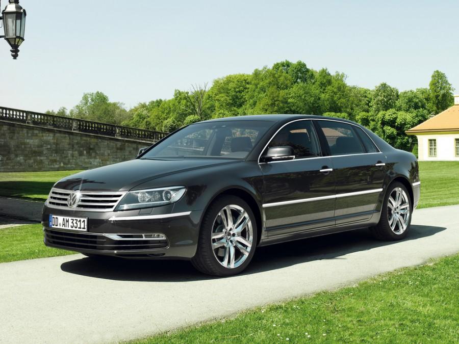 Volkswagen Phaeton седан, 2010–2016, 1 поколение [2-й рестайлинг] - отзывы, фото и характеристики на Car.ru