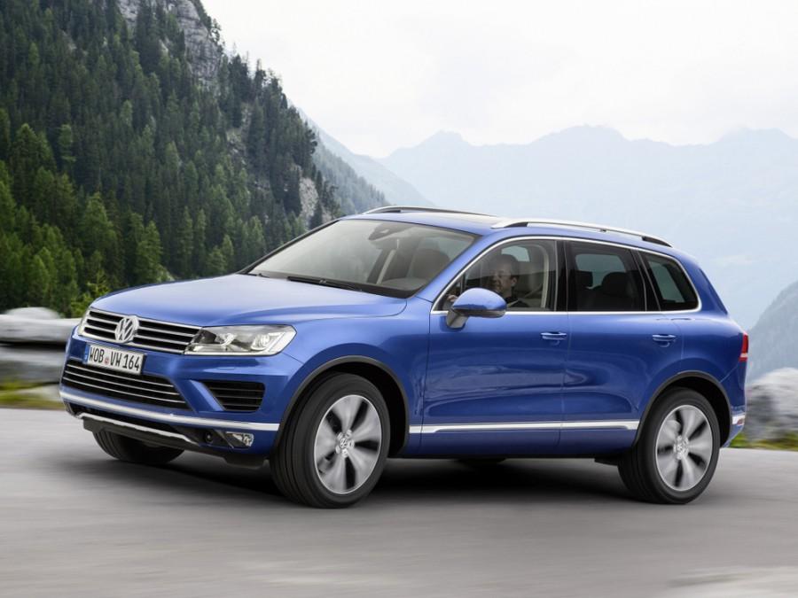 Volkswagen Touareg кроссовер, 2014–2016, 2 поколение [рестайлинг] - отзывы, фото и характеристики на Car.ru