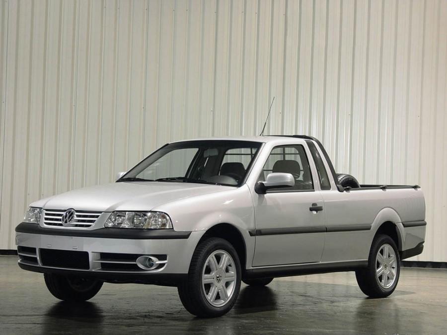 Volkswagen Saveiro пикап, 2000–2005, 3 поколение - отзывы, фото и характеристики на Car.ru