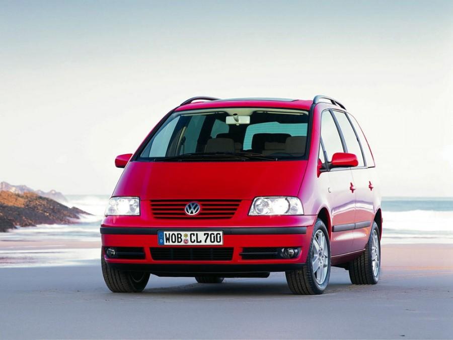 Volkswagen Sharan минивэн, 2000–2003, 1 поколение [рестайлинг] - отзывы, фото и характеристики на Car.ru