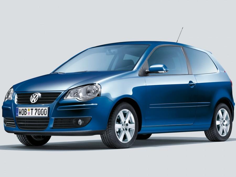 Volkswagen Polo хетчбэк 3-дв., 2005–2009, 4 поколение [рестайлинг] - отзывы, фото и характеристики на Car.ru
