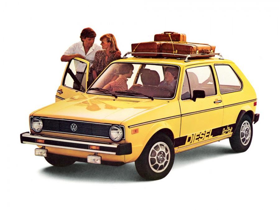 Volkswagen Rabbit хетчбэк 3-дв., 1975–1985, 1 поколение - отзывы, фото и характеристики на Car.ru