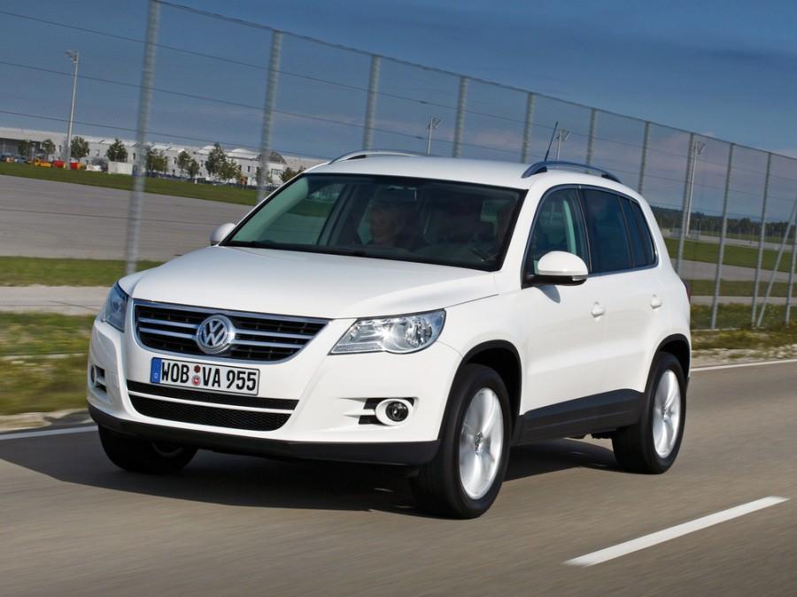 Volkswagen Tiguan кроссовер, 2007–2011, 1 поколение - отзывы, фото и характеристики на Car.ru