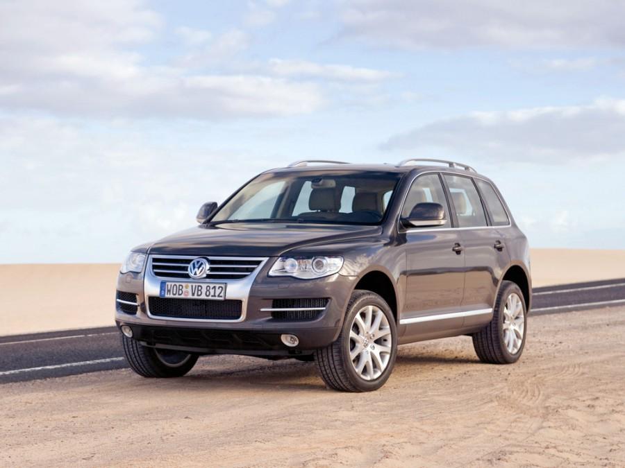 Volkswagen Touareg кроссовер, 2007–2010, 1 поколение [рестайлинг] - отзывы, фото и характеристики на Car.ru