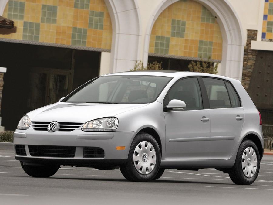 Volkswagen Rabbit хетчбэк 5-дв., 2006–2009, 2 поколение - отзывы, фото и характеристики на Car.ru