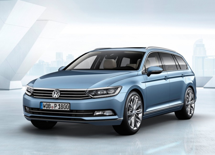 Volkswagen Passat Variant универсал, 2014–2016, B8 - отзывы, фото и характеристики на Car.ru