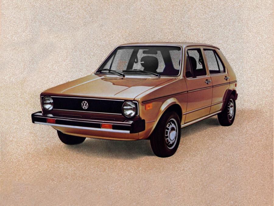 Volkswagen Rabbit хетчбэк 5-дв., 1975–1985, 1 поколение - отзывы, фото и характеристики на Car.ru