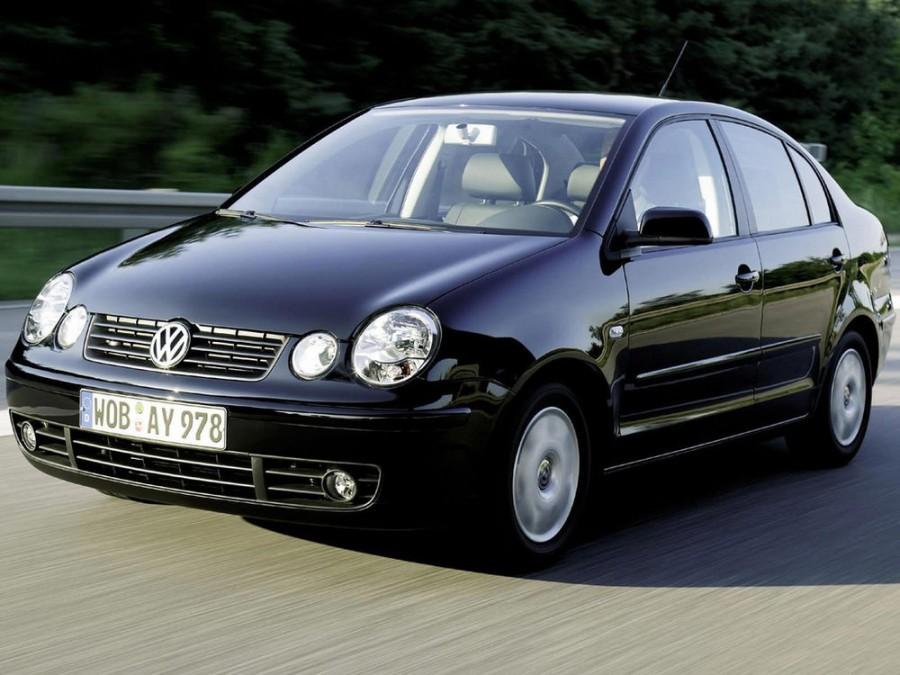 Volkswagen Polo Classic седан, 2001–2005, 4 поколение - отзывы, фото и характеристики на Car.ru