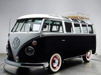 Volkswagen Transporter, T1 [рестайлинг], Samba микроавтобус 3-дв., 1963–1967