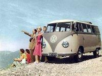 Volkswagen Transporter, T1, Kombi микроавтобус 5-дв., 1950–1967