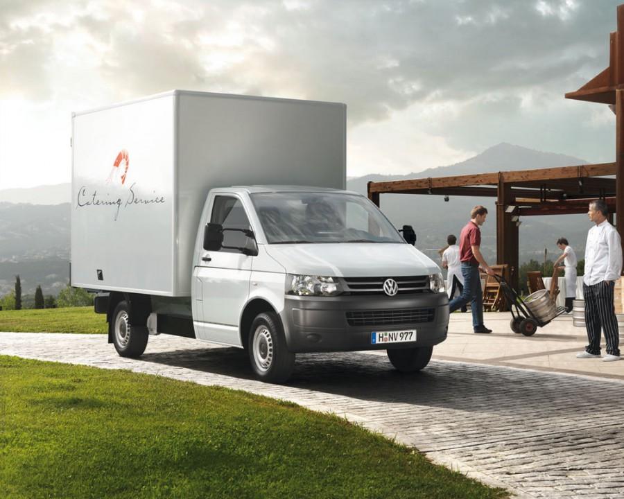 Volkswagen Transporter шасси 2-дв., 2010–2016, T5 [рестайлинг] - отзывы, фото и характеристики на Car.ru