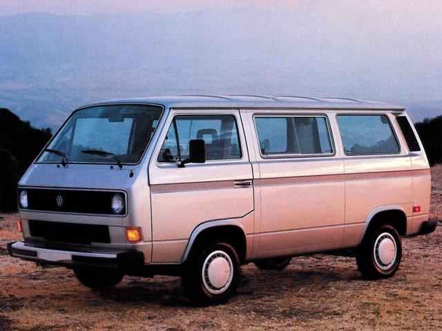 Volkswagen Transporter микроавтобус, 1982–1992, T3 [рестайлинг] - отзывы, фото и характеристики на Car.ru