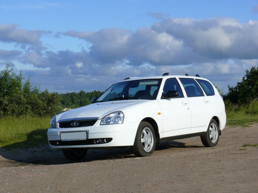 Lada Priora 2171 универсал, 2007–2016, 1 поколение - отзывы, фото и характеристики на Car.ru
