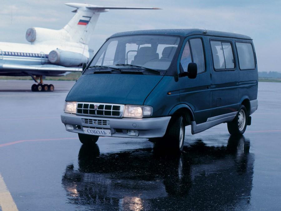 Газ Соболь 2217 микроавтобус 4-дв., 1998–2003, 1 поколение - отзывы, фото и характеристики на Car.ru