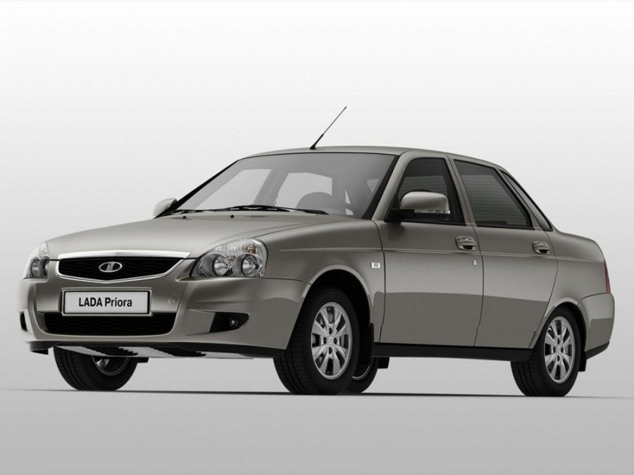 Lada Priora седан, 2013–2016, 1 поколение [рестайлинг] - отзывы, фото и характеристики на Car.ru