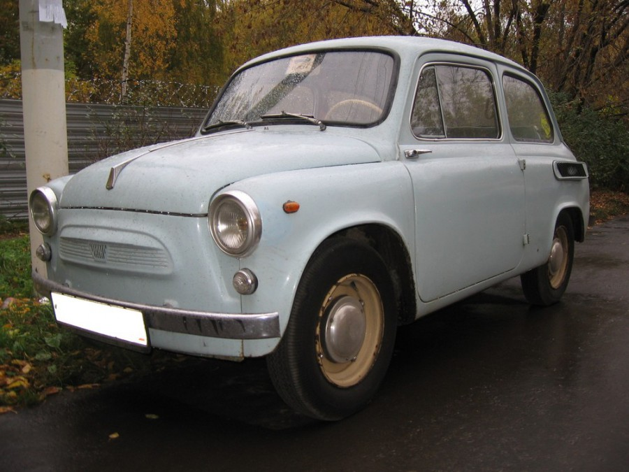 Zaz 965 седан, 1960–1970, 1 поколение - отзывы, фото и характеристики на Car.ru