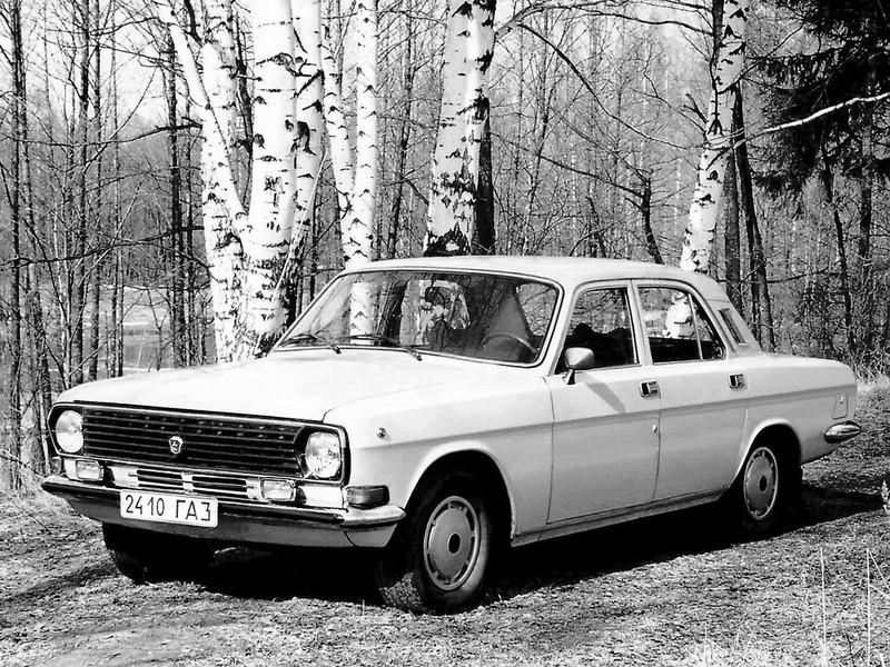 Газ Volga 24 24-10 седан, 1986–1992, Третья серия - отзывы, фото и характеристики на Car.ru