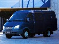 Газ Газель, 1 поколение [рестайлинг], 2705 комби микроавтобус 4-дв., 2003–2010