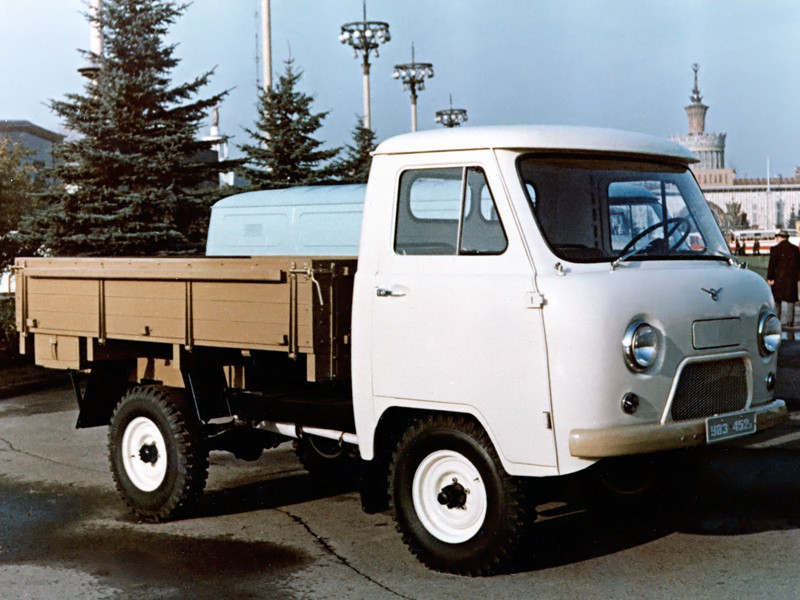 Уаз 452 452Д борт, 1965–1985, 1 поколение - отзывы, фото и характеристики на Car.ru