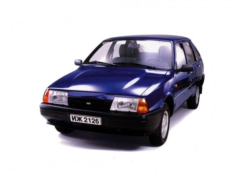 Иж 2126 хетчбэк, 1991–2005, 1 поколение - отзывы, фото и характеристики на Car.ru