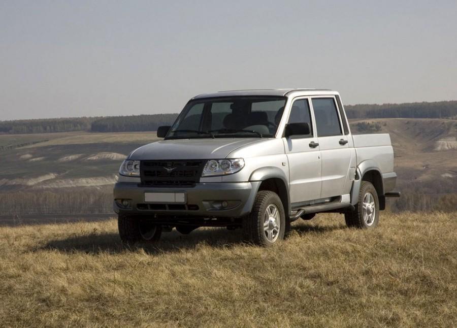 Уаз Pickup пикап, 2007–2012, 1 поколение, 2.7 MT 4WD (128 л.с.), Limited, характеристики