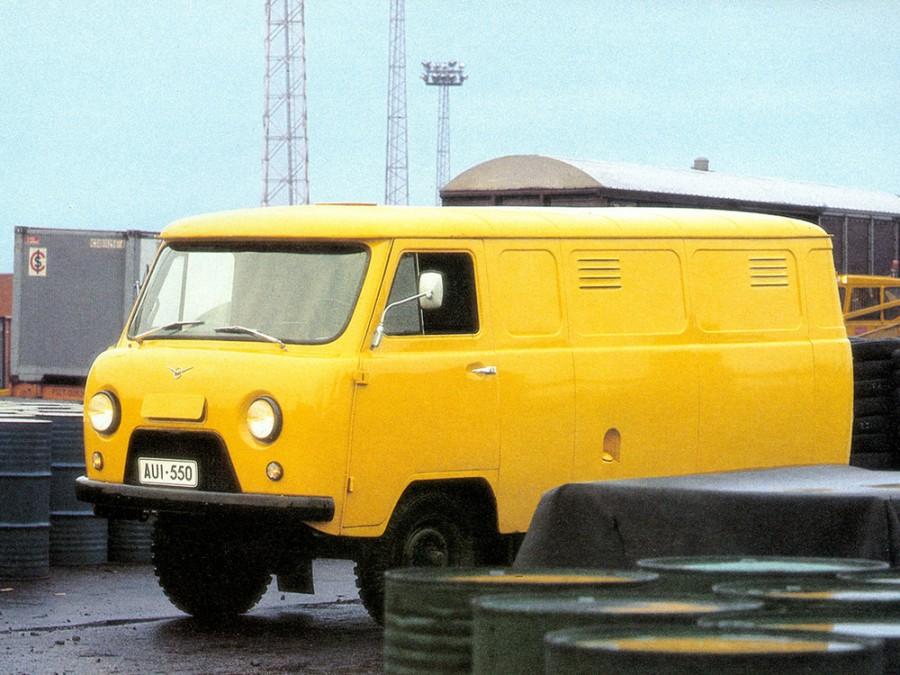 Уаз 452 452 фургон, 1965–1985, 1 поколение, 2.4 MT (72 л.с.), характеристики