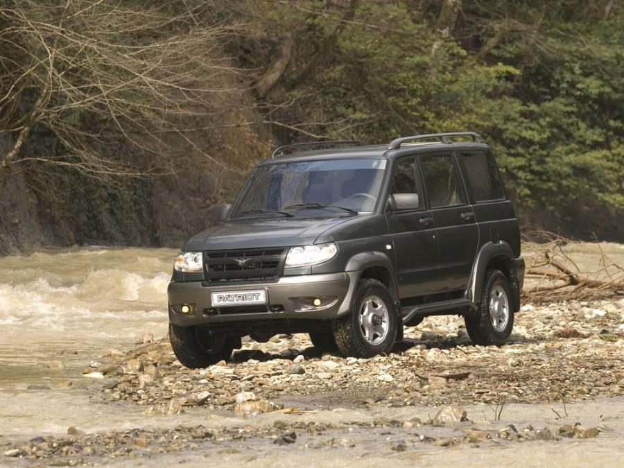 Уаз Patriot внедорожник 5-дв., 2005–2012, 1 поколение - отзывы, фото и характеристики на Car.ru